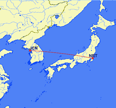 nrt icn - REVIEW - Asiana Airlines : First Class - Seoul Incheon to Tokyo Narita (B747)