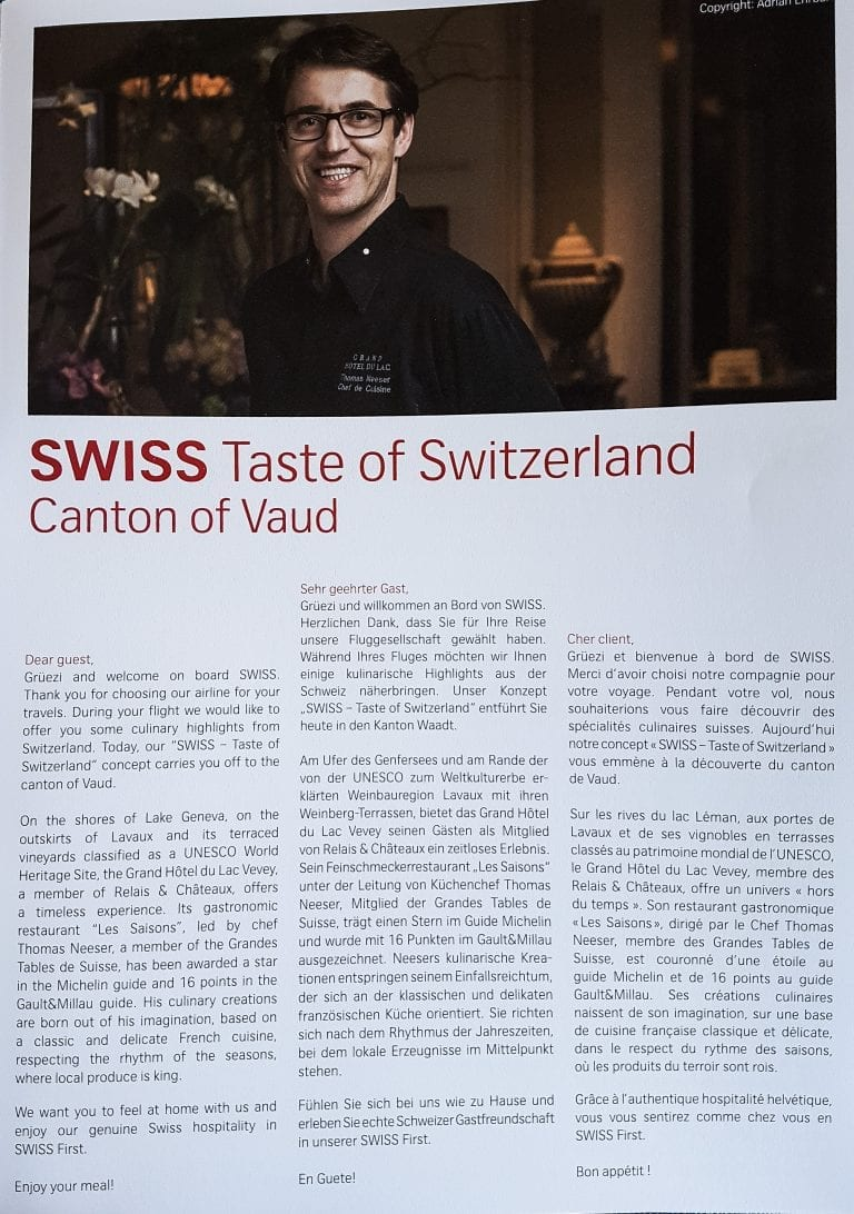 LX F A330 YUL 22 768x1092 - REVIEW - SWISS : First Class - Zurich ZRH to Montreal YUL (A330)